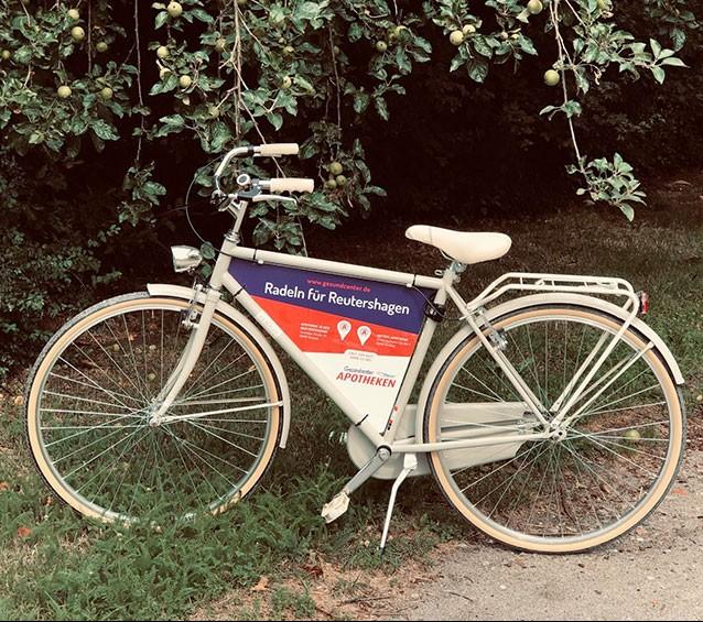 Fahrrad der Gesundcenter-Apotheken