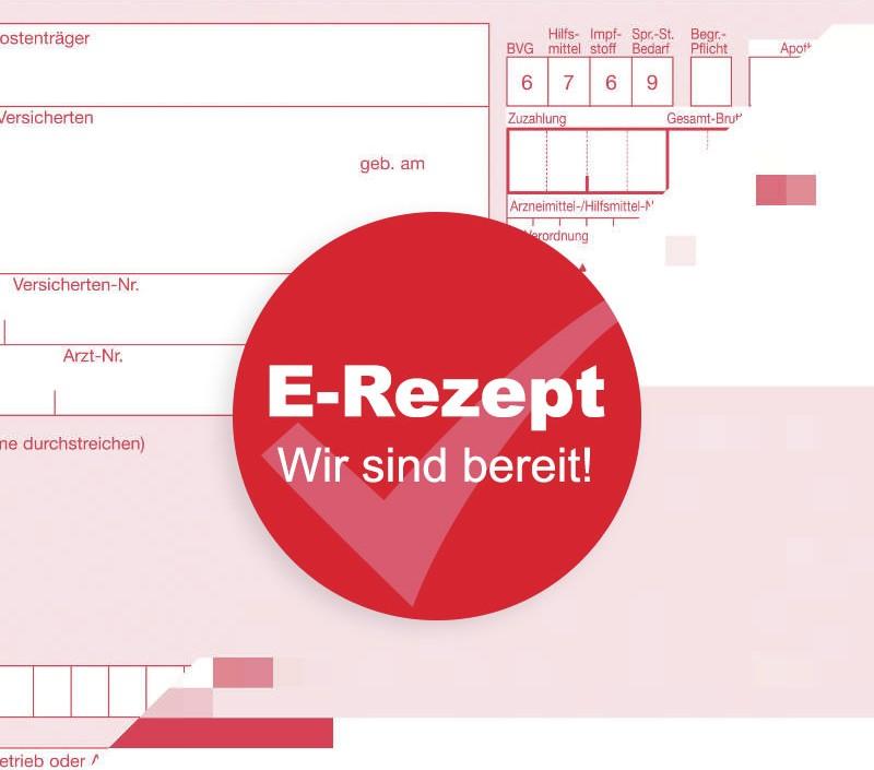 E-Rezept-Icon der Gesundcenter Apotheken in Rostock