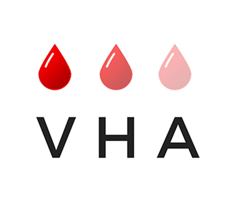 Logo des Verbandes der Hämophilie-Apotheken VHA